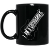 I Am A Guitaraholic Guitar Mug