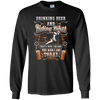 Drinking Beer and Riding Bikes Longsleeve