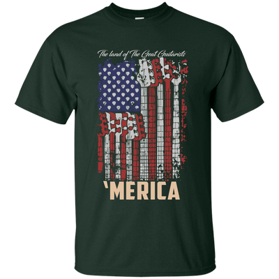 USA Guitar Flag T-Shirt
