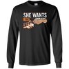She Wants The D Long Sleeve Shirt