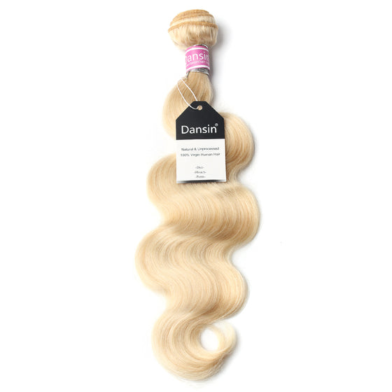 Luxury 10A 613 Blonde Peruvian Body Wave Hair 1 Bundle