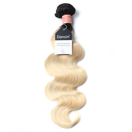 Luxury 10A 1B 613 Blonde Ombre Malaysian Body Wave Hair 1 Bundle