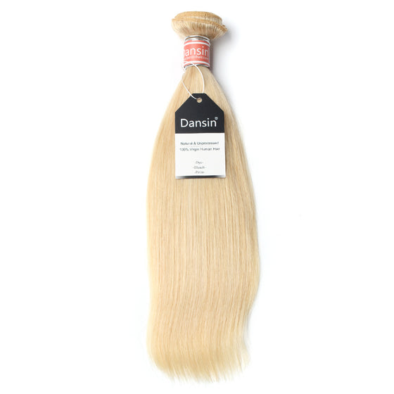 Luxury 10A Malaysian 613 Blonde Straight Hair 1 Bundle