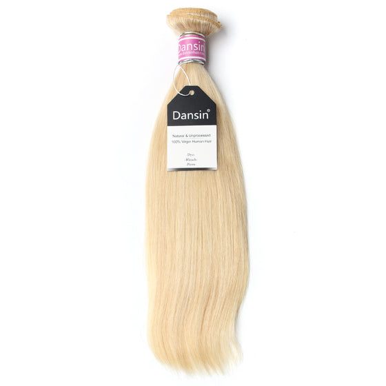 Luxury 10A Peruvian 613 Blonde Straight Hair 1 Bundle