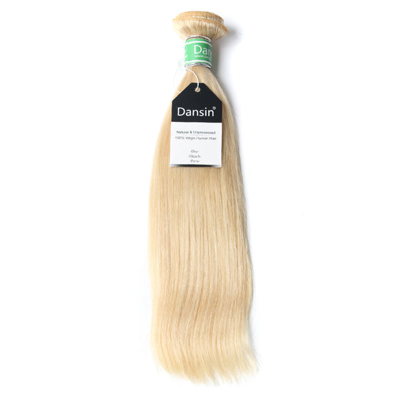 Luxury 10A Brazilian 613 Blonde Straight Hair 1 Bundle
