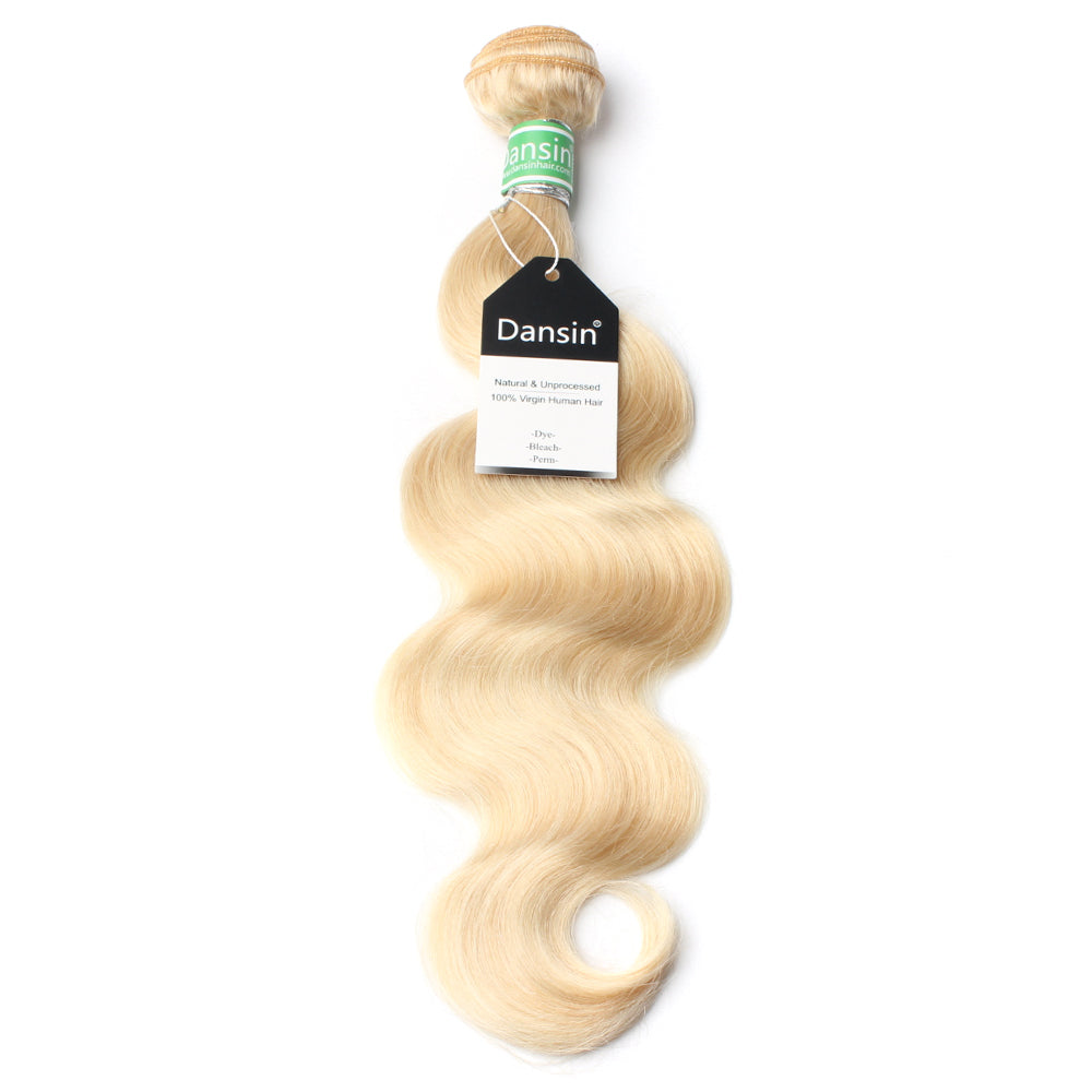 Luxury 10A 613 Blonde Brazilian Body Wave Hair 1 Bundle