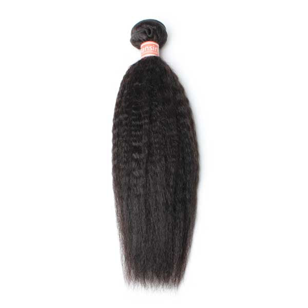 Malaysian Kinky Straight Hair 1 Bundle