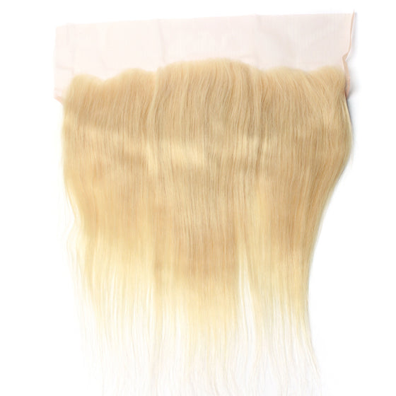 Luxury 10A 613 Blonde Straight Lace Frontal