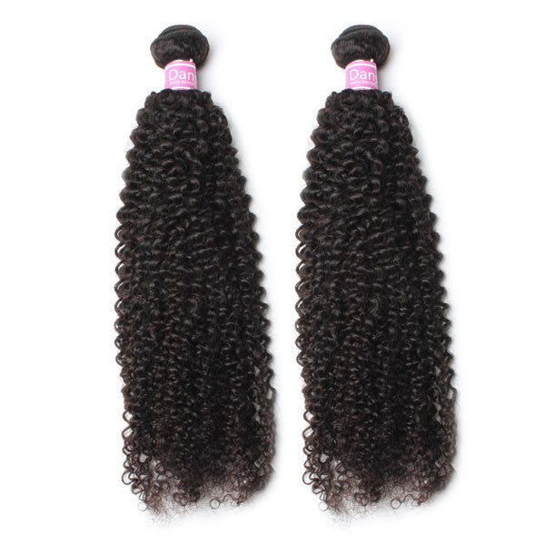 Luxury 10A Peruvian Kinky Curly Hair 2 Bundles