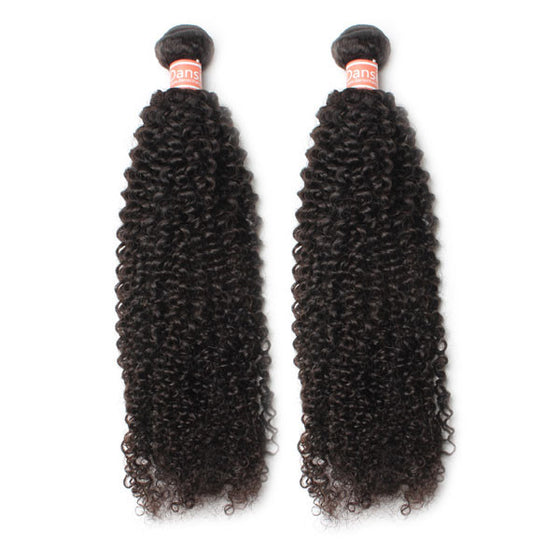 Malaysian Kinky Curly Hair 2 Bundles