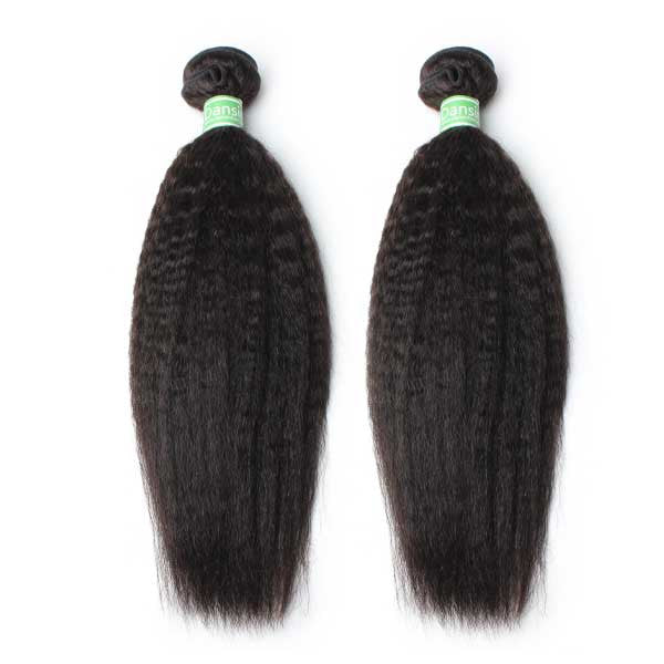 Luxury 10A Brazilian Kinky Straight Hair 2 Bundles