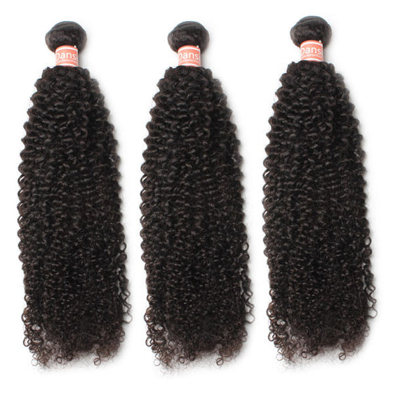 Malaysian Kinky Curly Hair 3 Bundles