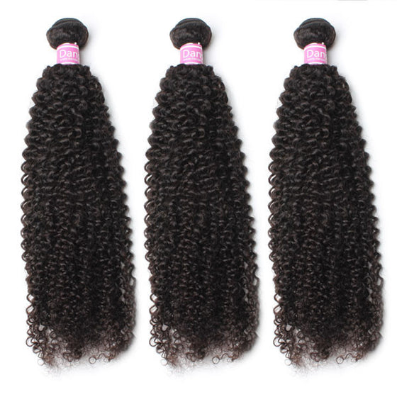 Peruvian Kinky Curly Hair 3 Bundles