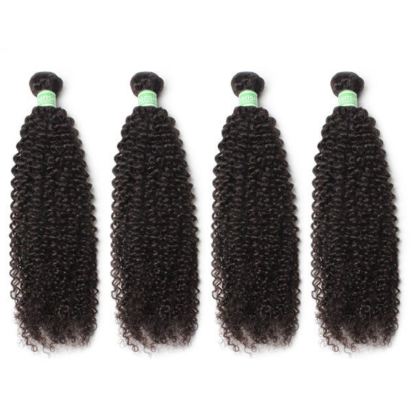 Brazilian Kinky Curly Hair 4 Bundles