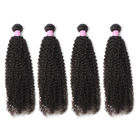 Luxury 10A Peruvian Kinky Curly Hair 4 Bundles