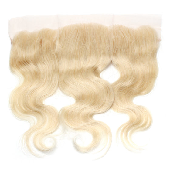 Luxury 10A 613 Blonde Body Wave Lace Frontal