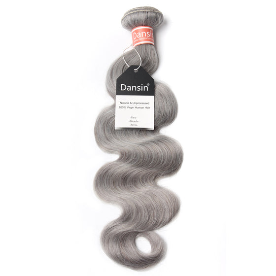Luxury 10A Malaysian Pure Gray Body Wave Hair 1 Bundle