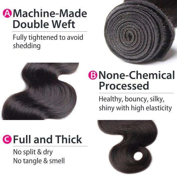 Brazilian Body Wave Hair Details