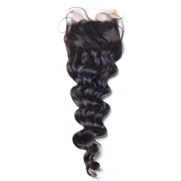 Luxury 10A Loose Wave Lace Closure