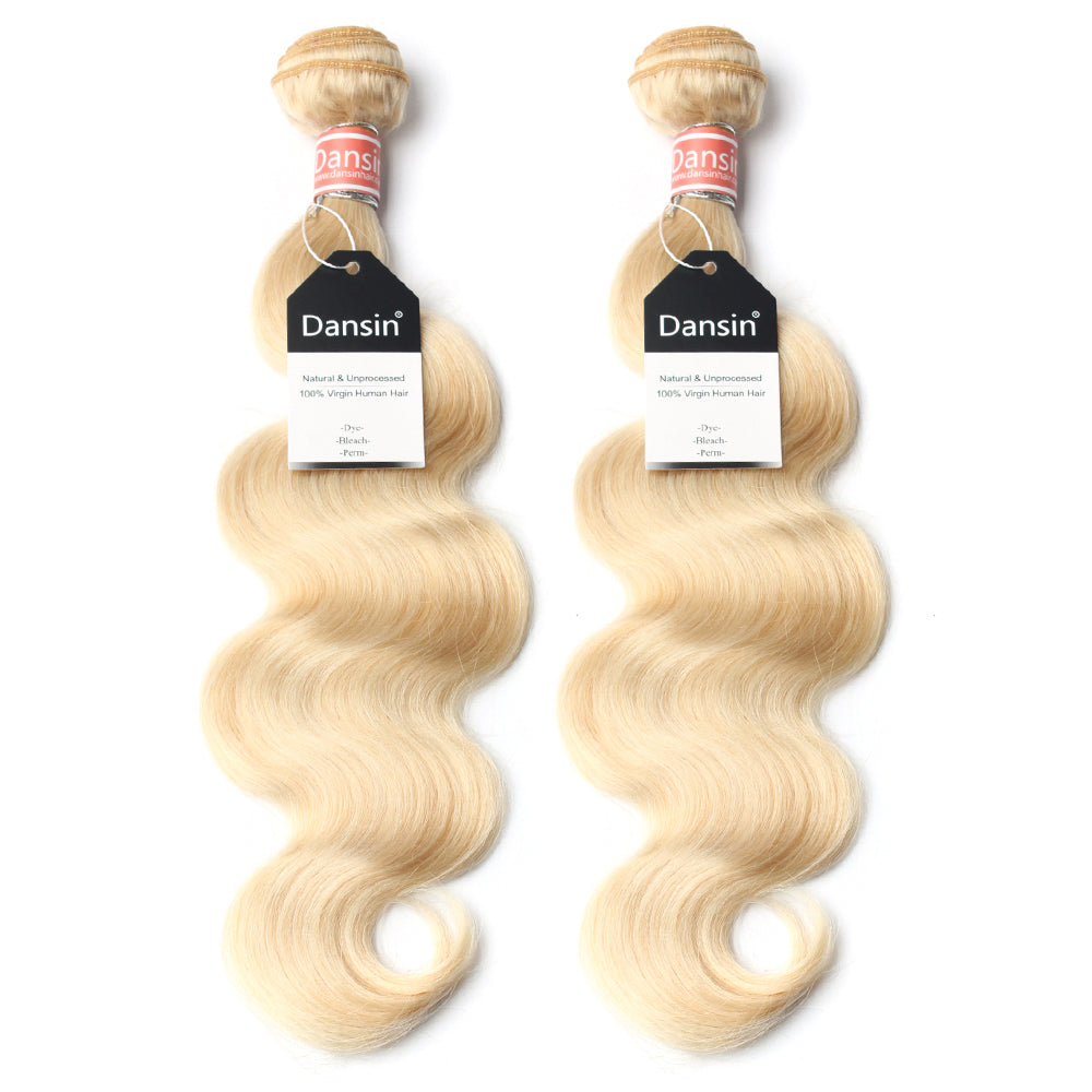 Luxury 10A 613 Blonde Malaysian Body Wave Hair 2 Bundles