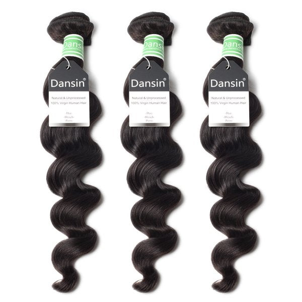 brazilian loose wave hair 3 bundles