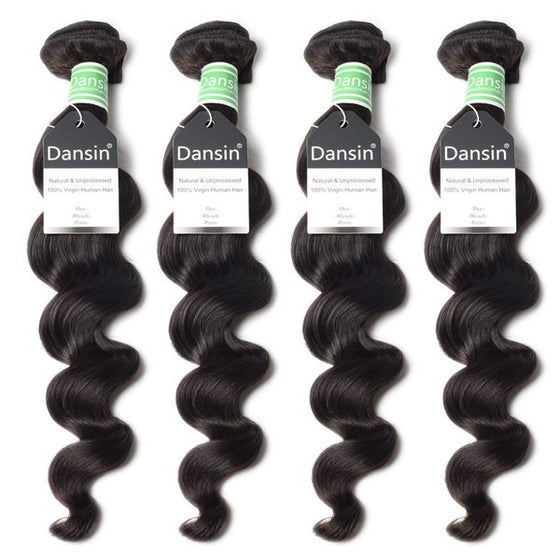 brazilian loose wave hair 4 bundles