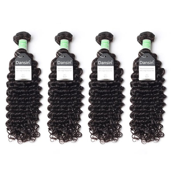 brazilian deep wave hair 4 bundles