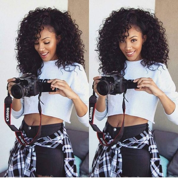 Peruvian Curly Hair 3 Bundles Buyer Show