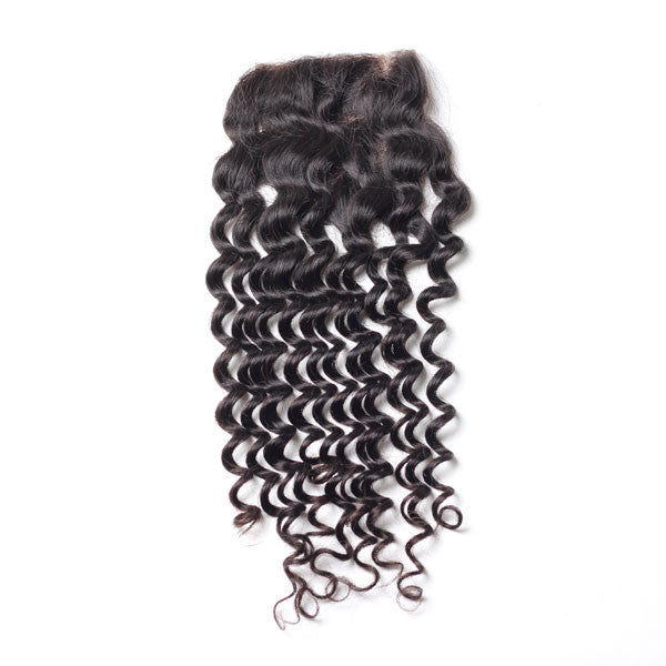 Luxury 10A Deep Wave Lace Closure