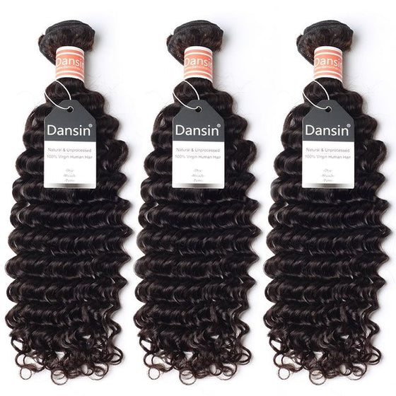 Malaysian Deep Wave Hair 3 Bundles