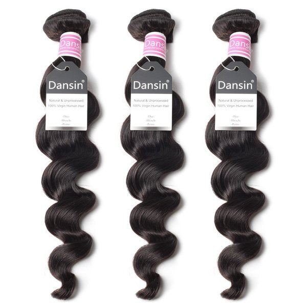 Luxury 10A Peruvian Loose Wave Hair 3 Bundles