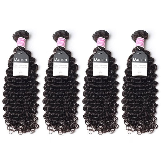 Luxury 10A Peruvian Deep Wave Hair 4 Bundles