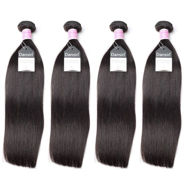 Luxury 10A Peruvian Straight Hair 4 Bundles