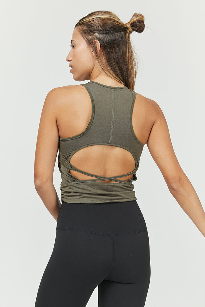 Active Sonora top In Olive