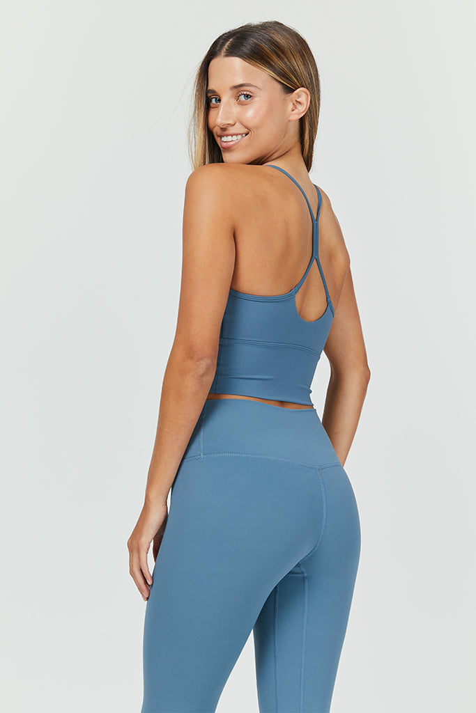 Active Capri - in Blue Powder (with pocket)