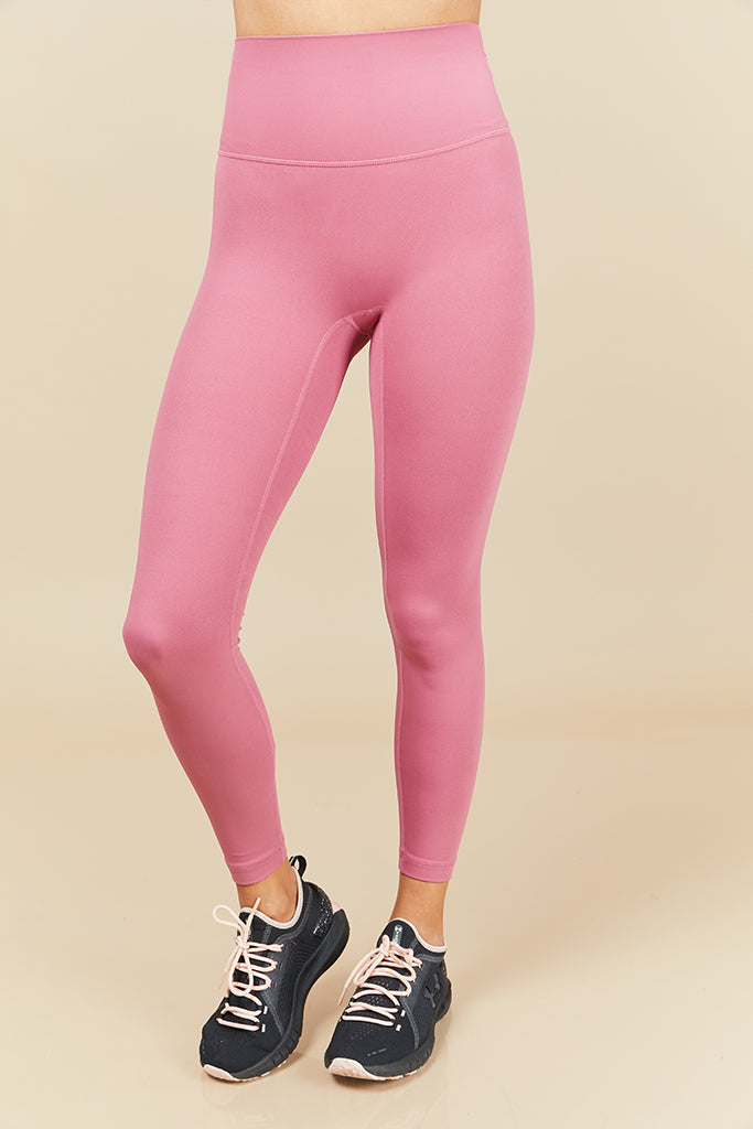 Active Seamless 7/8 in Pink (with Pocket)