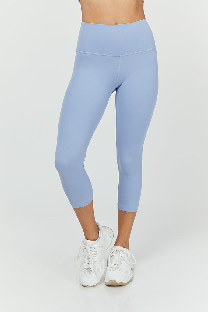 Active sahara Capri in Light Blue (with Pocket)