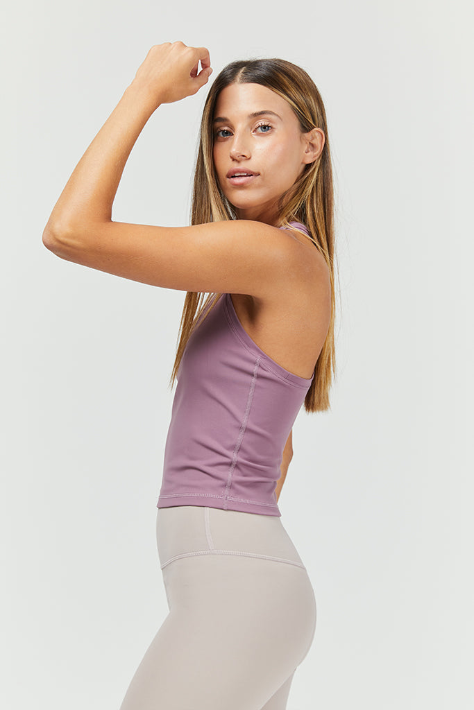 Active Crop top in Hazy