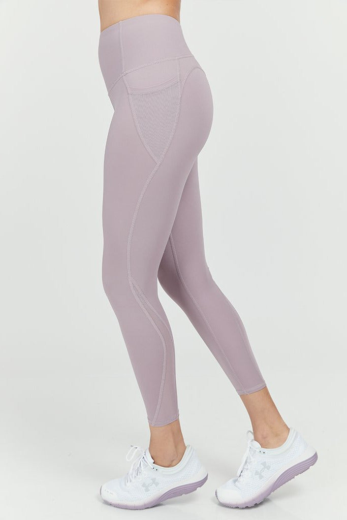 Active arc Side Pocket & Mesh in Lilac
