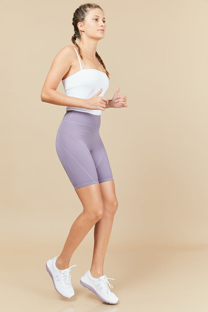 Active Biker shorts in Lilac
