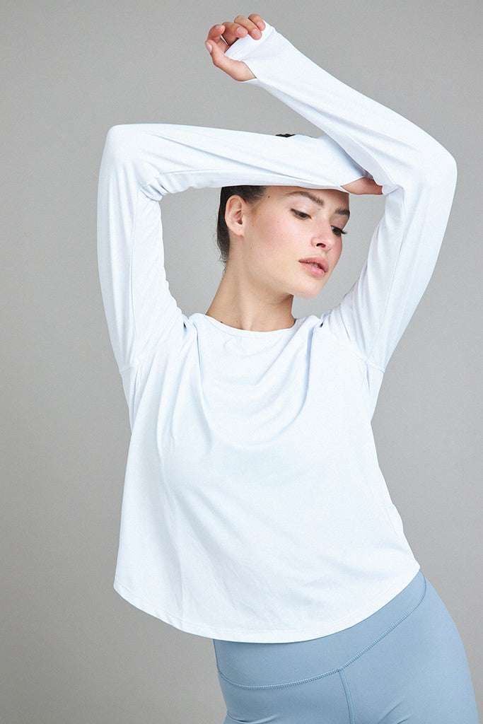Active easy Shirt in white