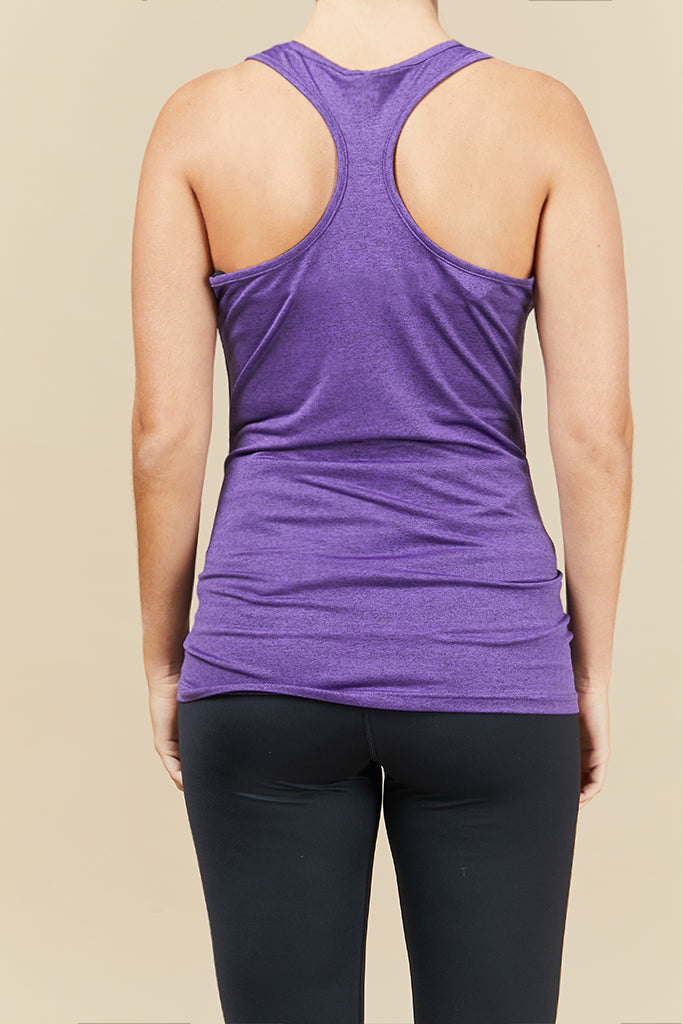 Active Maternity top in Purple