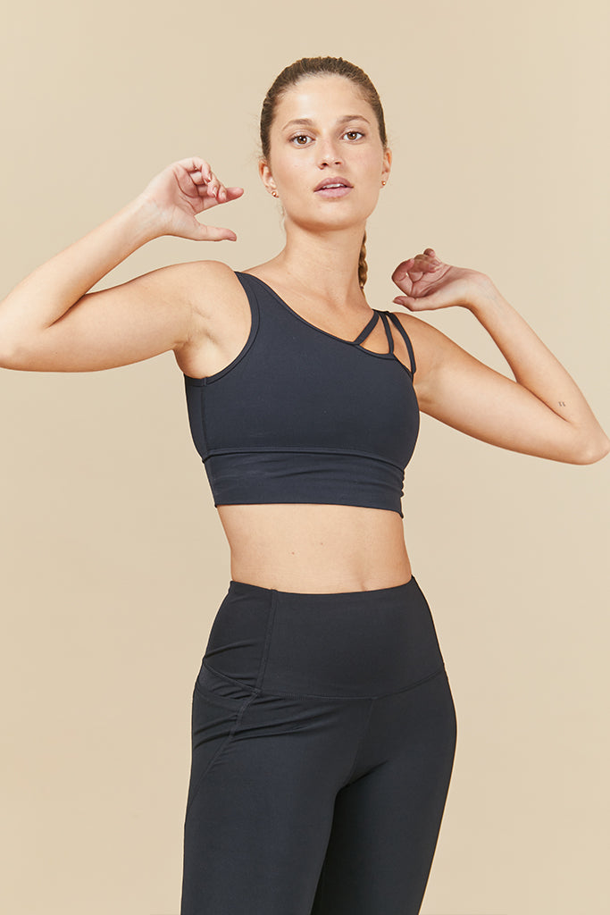 Active ray top in Black