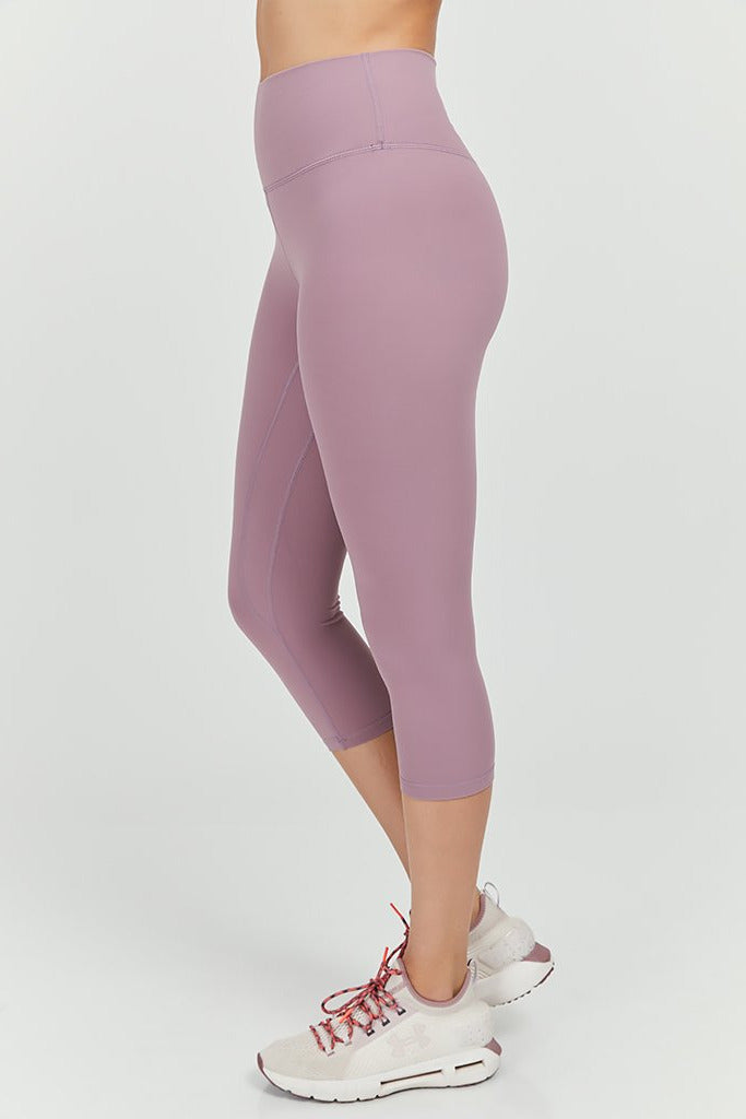 Active sahara Capri in Light Pink (with Pocket)