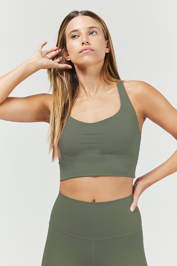 Active sonora in olive - Top