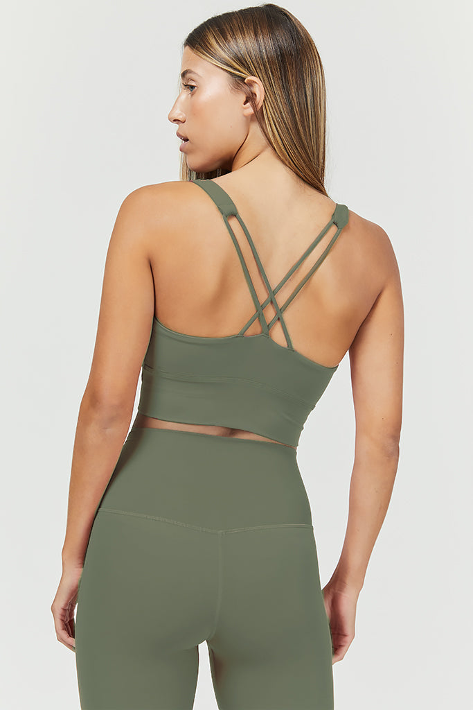 Active sahara in olive (set)