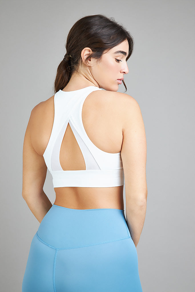 Active Sonora Pyramid Top in white