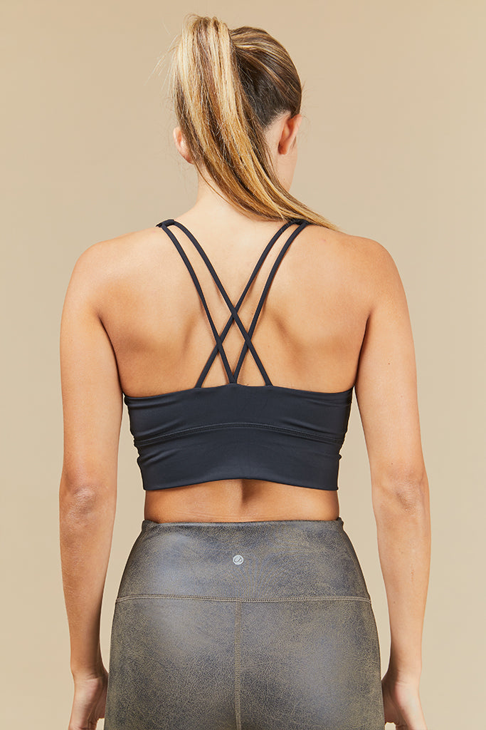 Active sonora top in Black