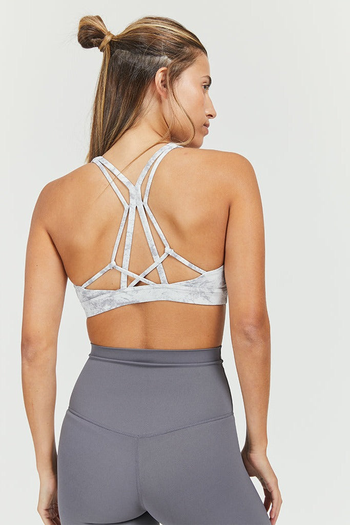 Active sahara strings top in Marble