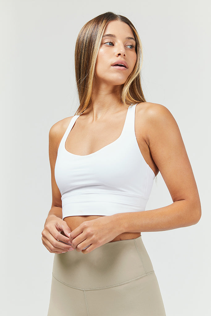 Active Top in white
